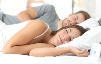 trying various solutions to avoid snoring