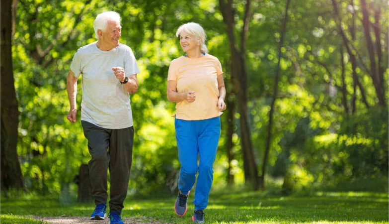 old couple still actively running
